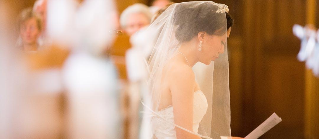 Ceremonimeester voor kerkelijk huwelijk